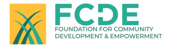 Foundation for Community Development and Empowerment logo
